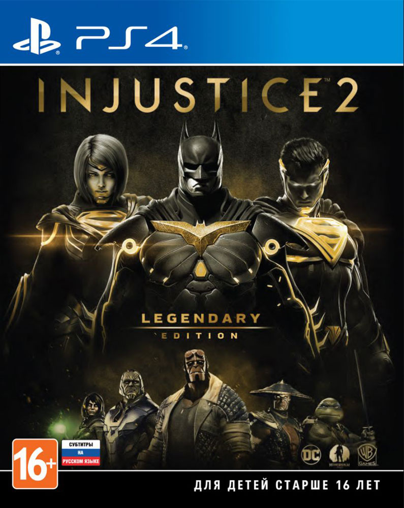 купить Игра Injustice 2. Legendary Edition для PS4 Sony недорого