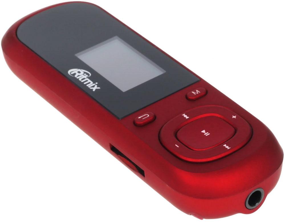 Ritmix RF-3360 4Gb, Red MP3-плеер выбор mp3 плеера