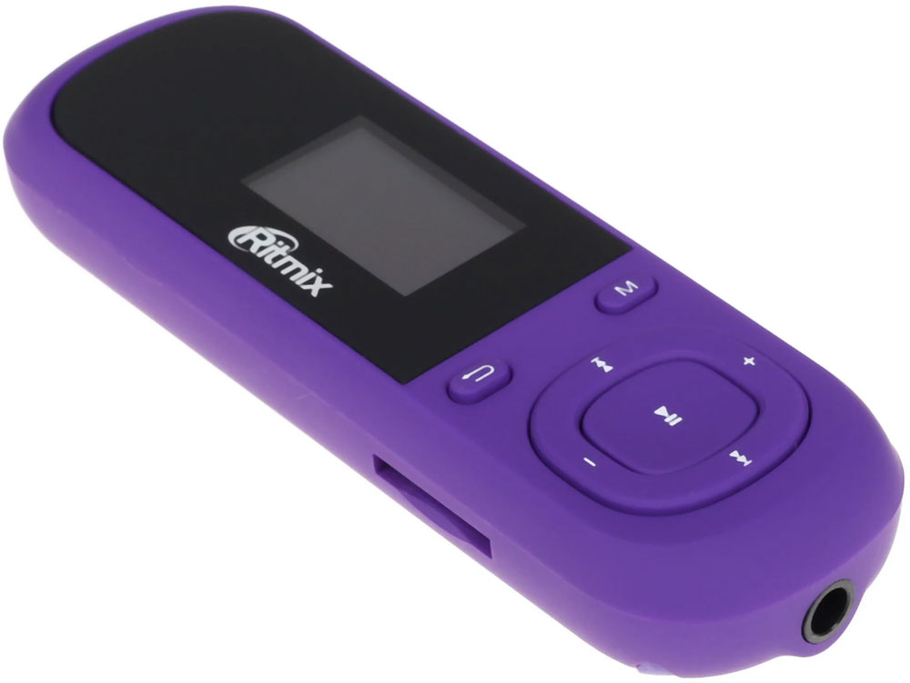 MP3 плеер Ritmix RF-3360 4Gb, Violet mp3 плеер fm трансмиттер с дисплеем и пультом avs f 708а