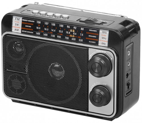 Радиоприемник Ritmix RPR-171, Black