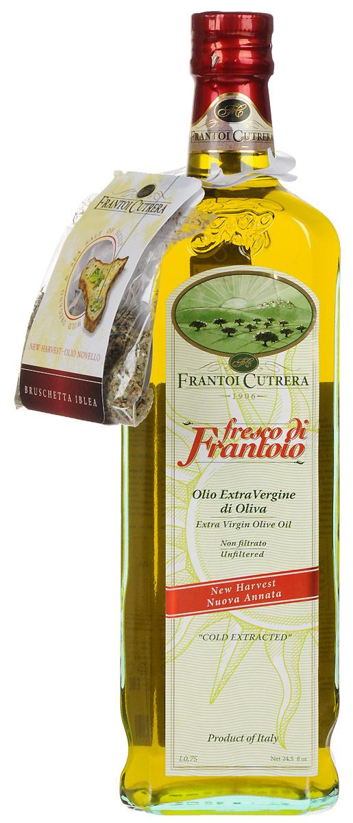 Frantoi Cutrera Оливковое масло нерафинированное Extra virgin, 750 мл just greece premium extra virgin оливковое масло 750 мл