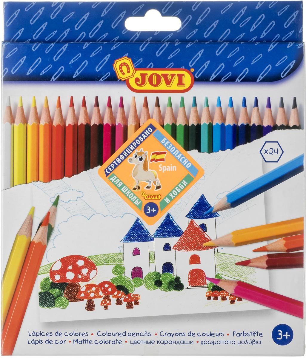 Jovi Цветные карандаши 24 цвета цена