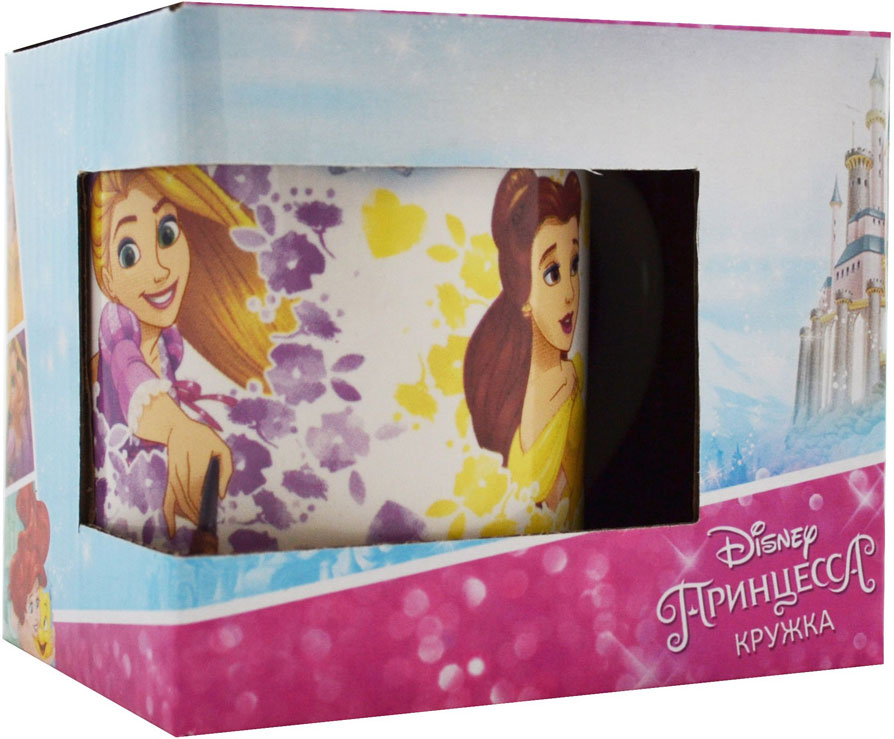 Фото - Disney Кружка детская Принцессы 240 мл в подарочной упаковке кружка детская disney софия 27015