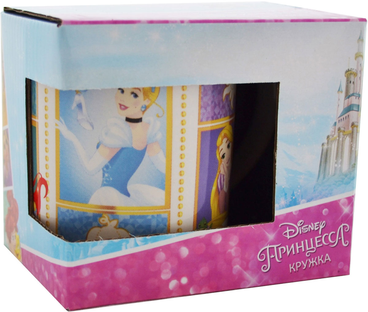 Фото - Disney Кружка детская Принцесса Будь собой! 240 мл в подарочной упаковке кружка детская disney софия 27015