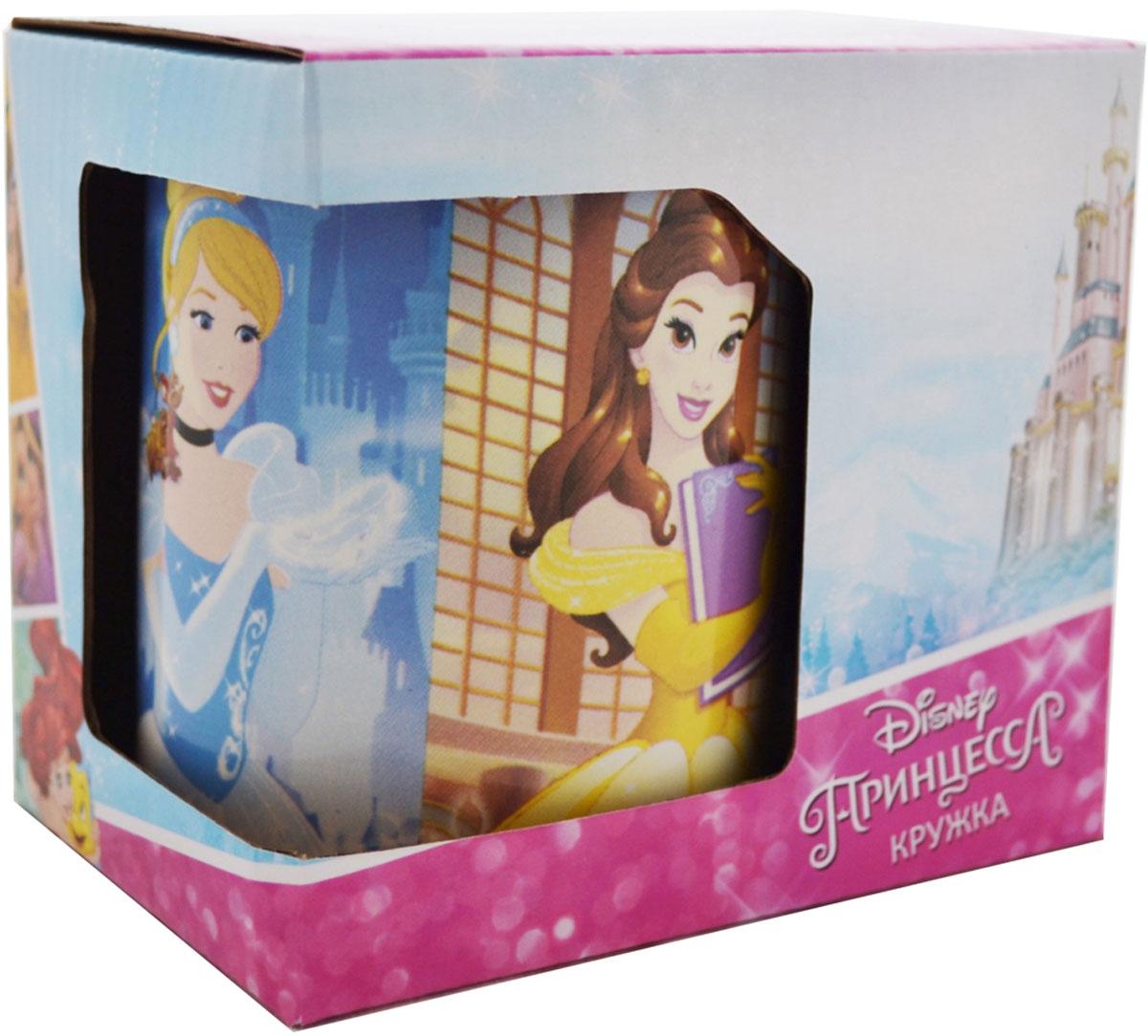 Фото - Disney Кружка детская Следуй за мечтой Принцесса! 350 мл в подарочной упаковке кружка детская disney софия 27015