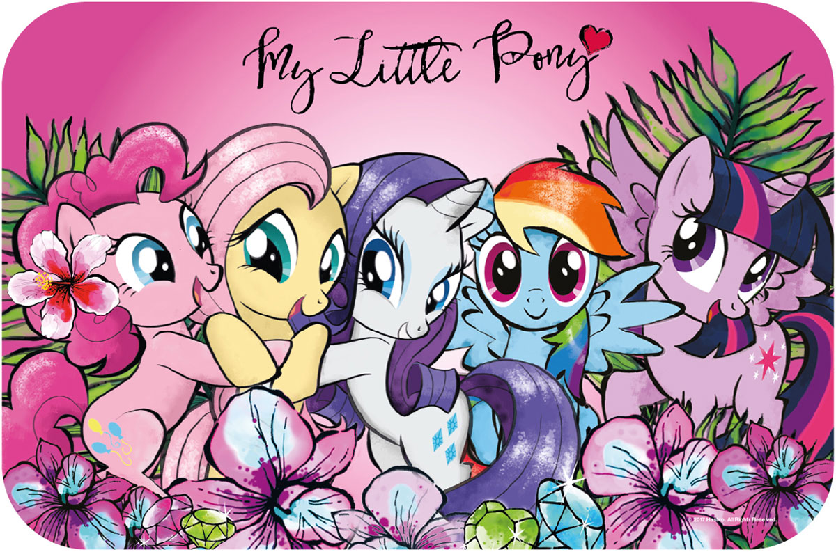 Hasbro Салфетка под горячее My Little Pony Boogie салфетка под горячее 33х48 daily by t