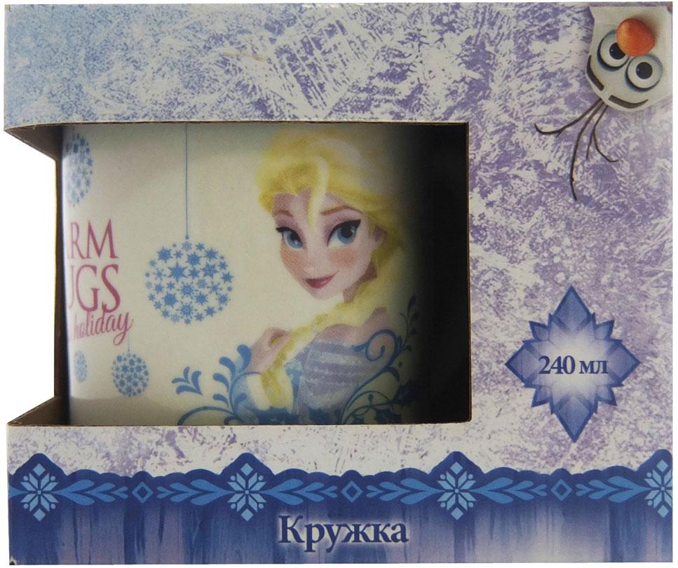 Фото - Disney Кружка детская Холодное сердце 240 мл в подарочной упаковке кружка детская disney софия 27015