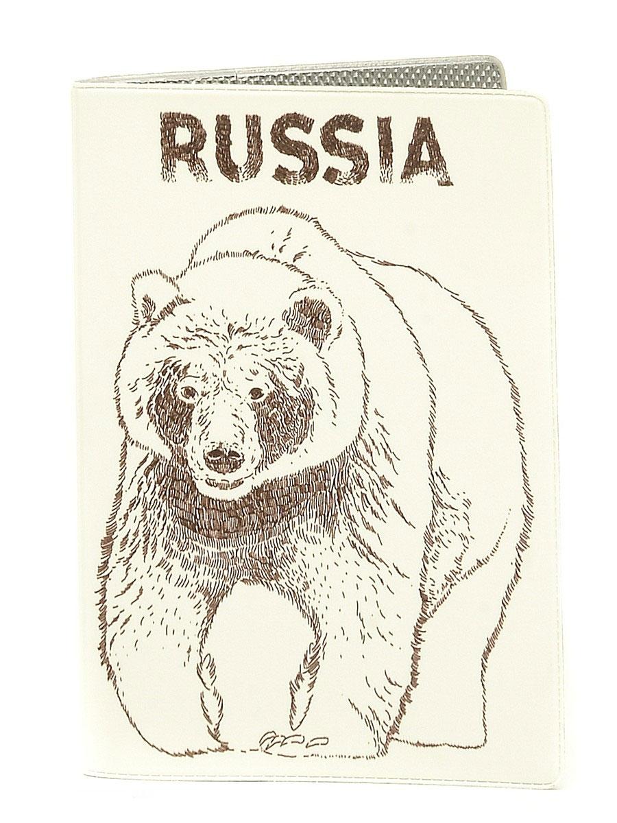 Обложка для автодокументов Медведь. AUTO301 обложка для автодокументов mitya veselkov штампики и космосе