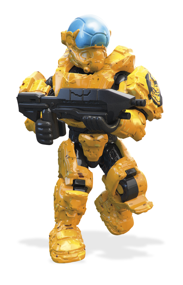 Mega Bloks/Mega Construx Фигурка Halo Боевая команда FMM86 набор конструктор mega bloks halo танк носорог 822 элемента