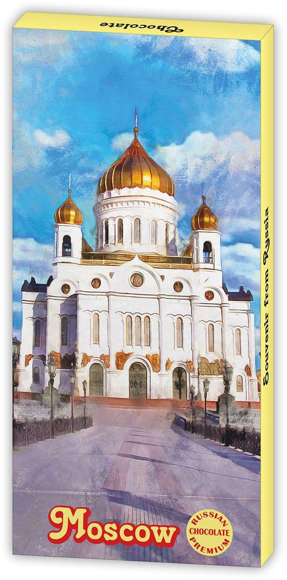 Дилан+ Шоколадный набор Moskow Храм Христа Спасителя, 12 шт по 5 г Дилан+