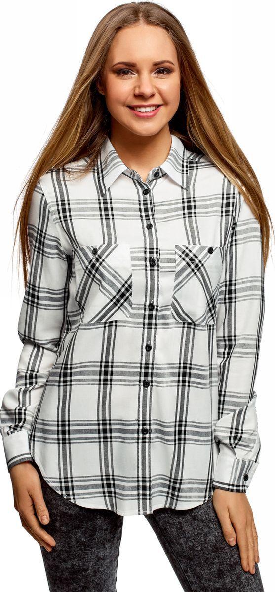 купить Рубашка oodji по цене 799 рублей