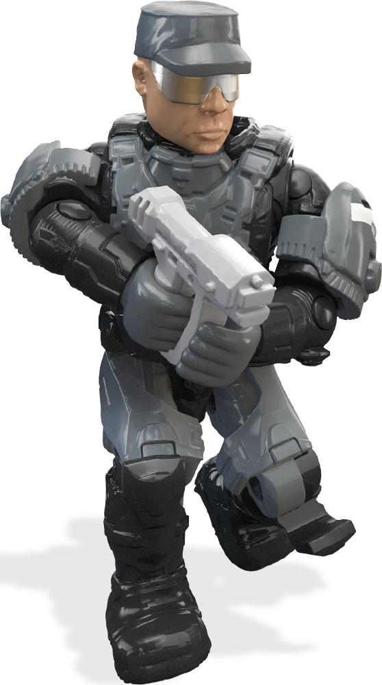 Mega Bloks/Mega Construx Фигурка Halo Боевая команда набор конструктор mega bloks halo танк носорог 822 элемента