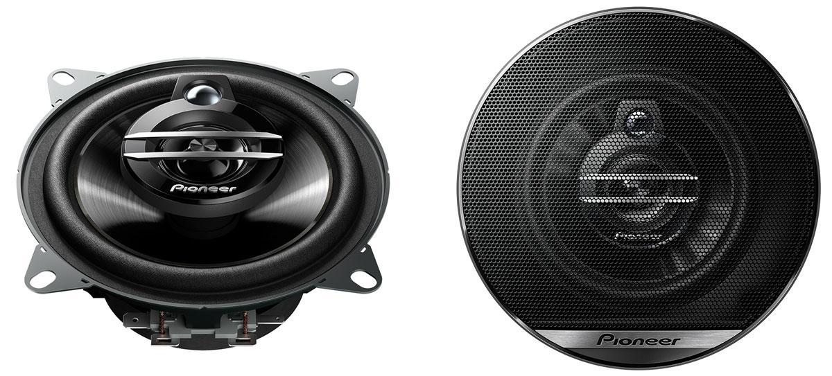 Pioneer TS-G1030F колонки автомобильныеTS-G1030FЛинейка акустических систем улучшенной G-серии разработана для мощного звука премиум класса. В их прочной конструкции предусмотрено несколько крепежных отверстий, что облегчает установку любой акустической системы G-серии в автомобиль. Благодаря возможности работы с большей мощностью и высокой чувствительности , эта акустическая система может воспроизводить глубокие, эффектные басы и естественные звук на высоких частотах.Чувствительность: 87 дБ. Размер твитера: 10 мм.Диаметр колонки: 10 см.Диаметр установочного отверстия: 106 мм.Монтажная глубина: 43 мм.Размер СЧ динамика: 30 мм. Рекомендуем!