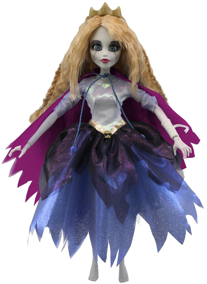 WowWee Кукла Зомби Спящая красавица0901Кукла Зомби Спящая красавица WowWee - это сказочный персонаж, превращенный в загадочную и холодную принцессу-зомби. Несмотря на превращение, принцесса не утратила своей красоты, даже наоборот, приобрела определенный потусторонний шарм и очарование. Длинные волосы куклы очень приятны наощупь, из них получится много оригинальных причесок. Спящая красавица одета в невероятное платье с серебряным лифом и пышной темно-синей юбкой. На плечах у нее - фиолетовый плащ. Голову куклы венчает золотистая диадема. Рекомендуем!