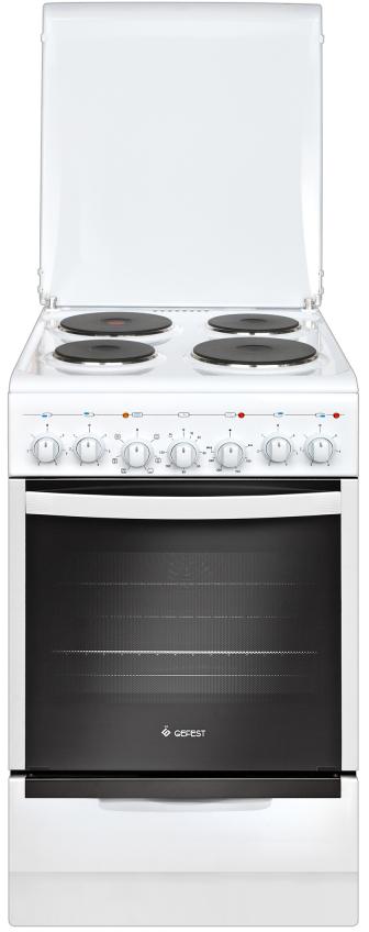 Gefest 5140-02, White плита электрическая