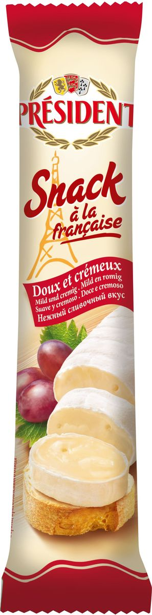 President Сыр Snack a la Francaise мягкий 60%, 170 г цена 2017