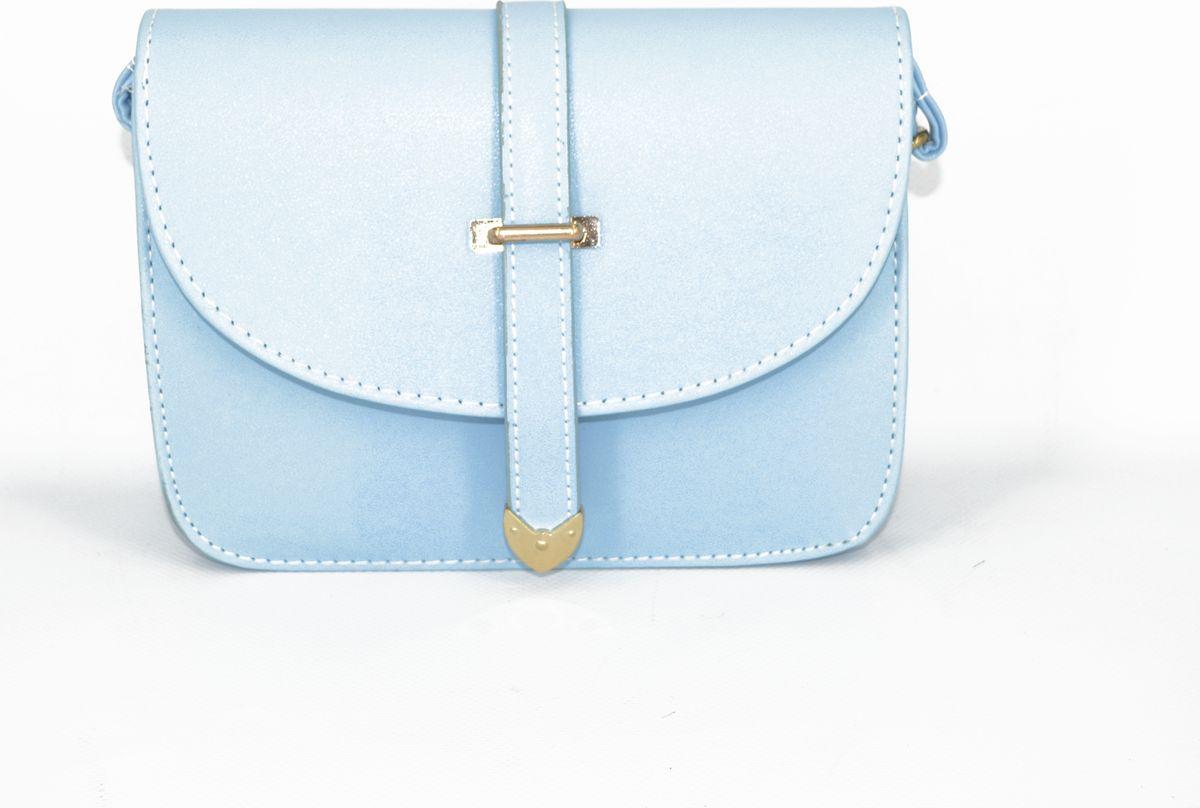 Сумка женская Kingth Goldn, цвет: голубой. УТ-00000267 сумка женская kingth goldn цвет розовый ут 00000803