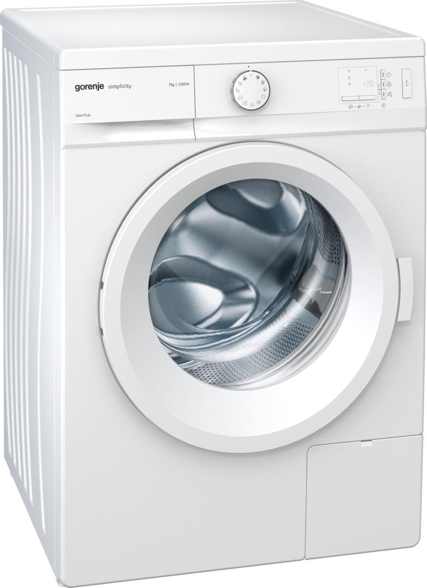 Стиральная машина Gorenje WA72SY2W, white стиральная машина bomann wa 5716