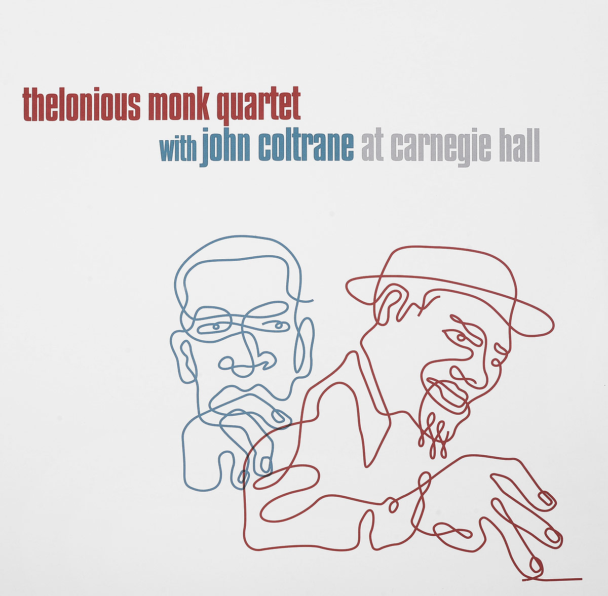 Thelonious Monk Quartet,Джон Колтрейн Thelonious Monk Quartet, John Coltrane. At Carnegie Hall (2 LP) виниловая пластинка monk thelonious misterioso