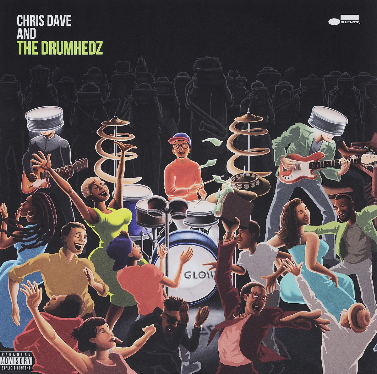 Крис Дейв Chris Dave.Chris Dave And The Drumhedz (2 LP) dave swarbrick dave swarbrick in the club 2 lp