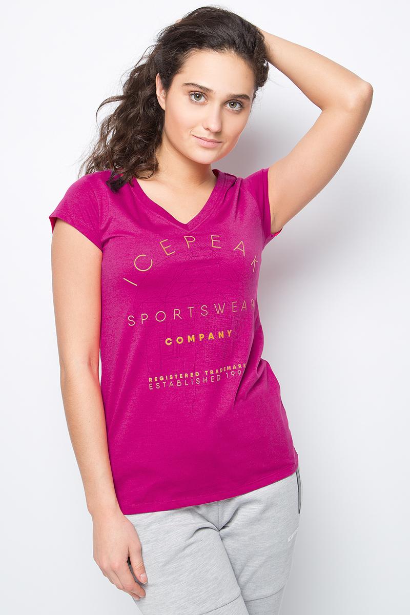 Футболка Icepeak футболка мужская icepeak цвет темно синий 757723689iv 390 размер m 50