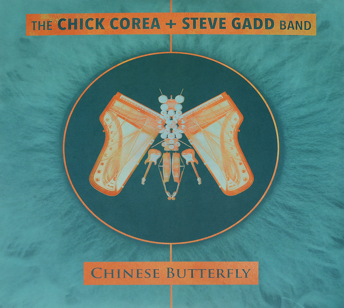 чик кориа chick corea The Chick Corea + Steve Gadd Band The Chick Corea + Steve Gadd Band. Chinese Butterfly (3 LP)