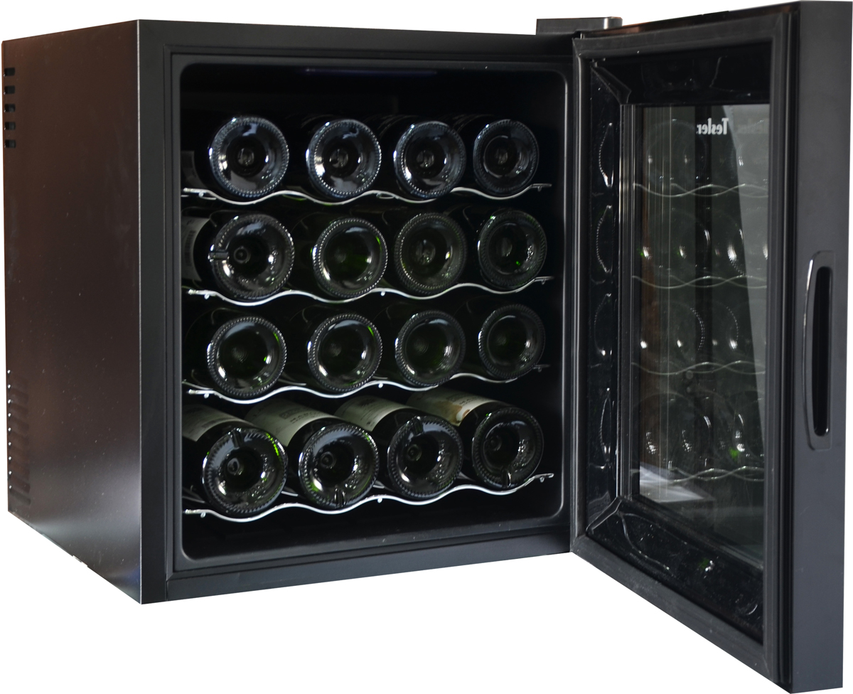 Винный шкаф Tesler WCV-160, Black Tesler