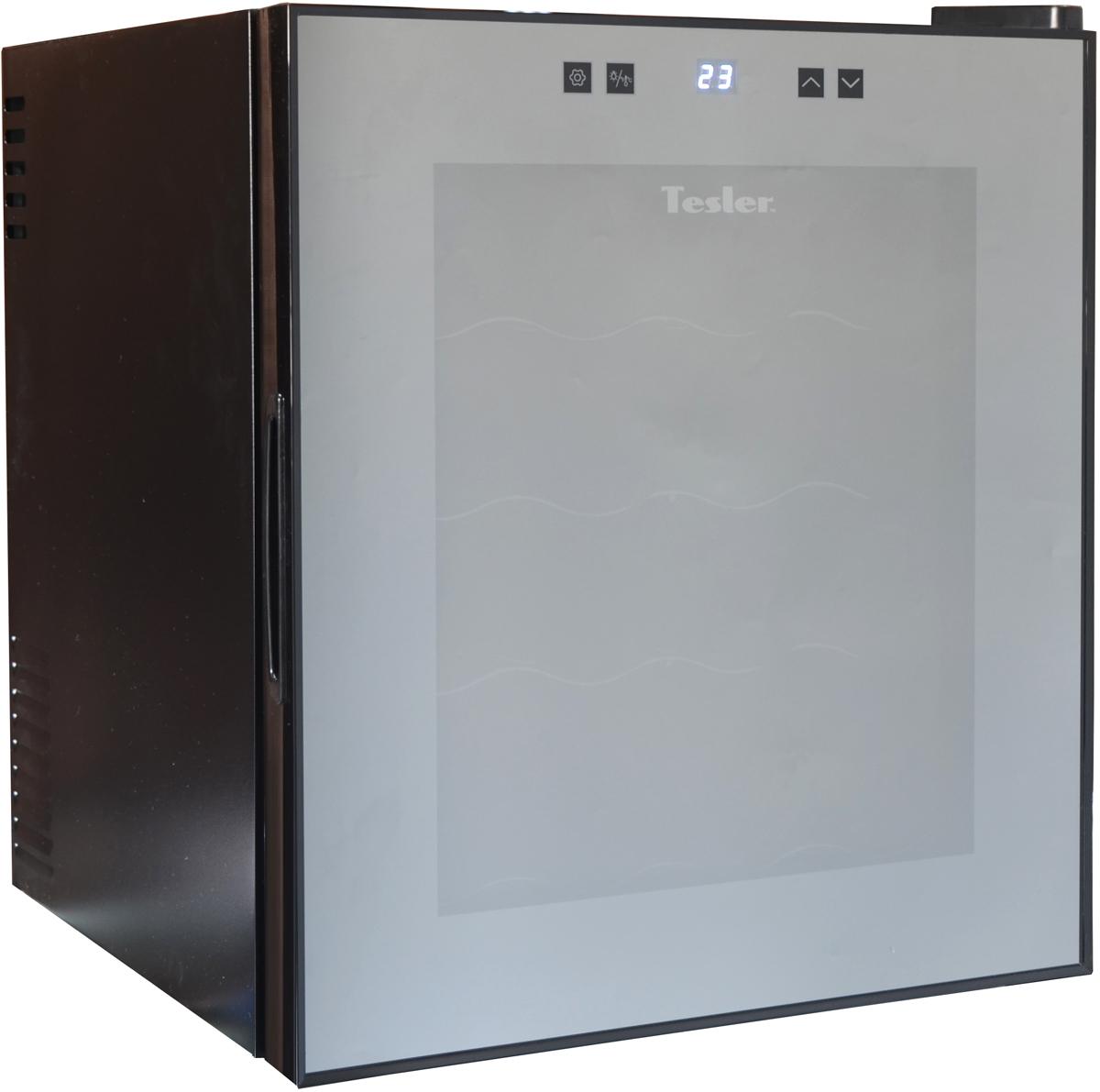 лучшая цена Винный шкаф Tesler WCV-160, Black