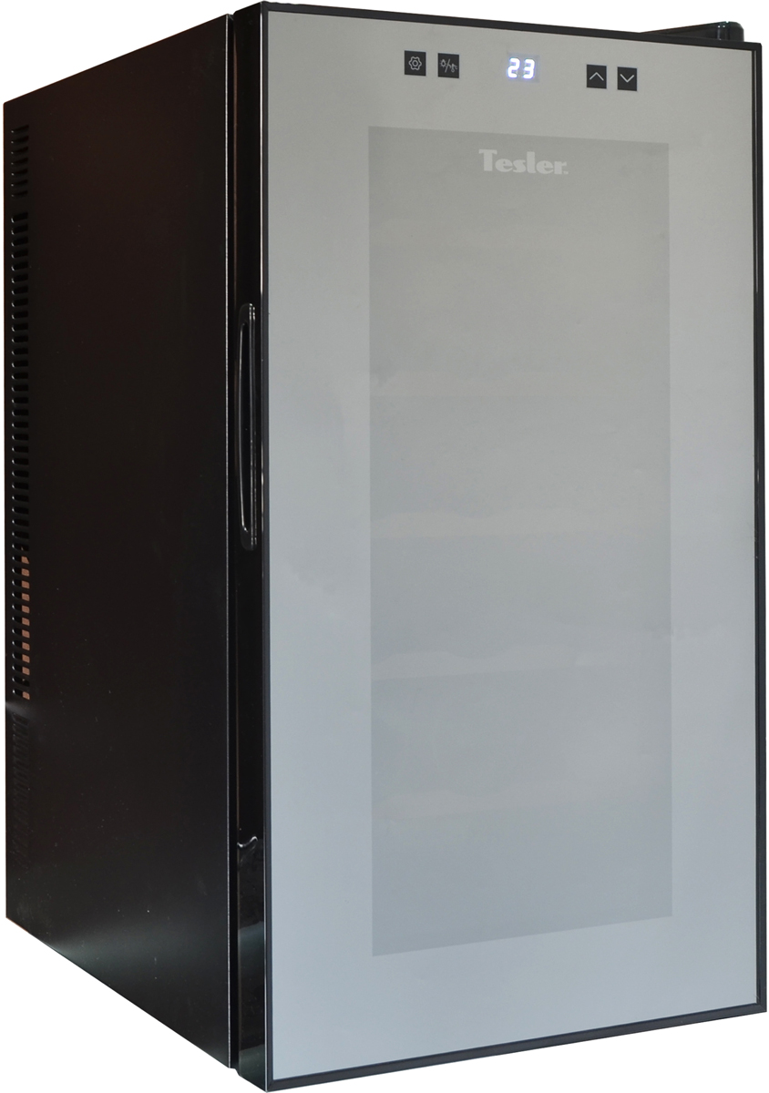 лучшая цена Tesler WCV-180, Black винный шкаф