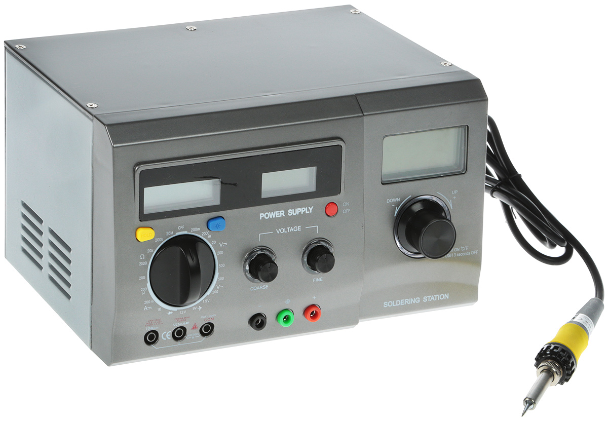 Rexant ZD-8901 многофункциональная цифровая паяльная станция
