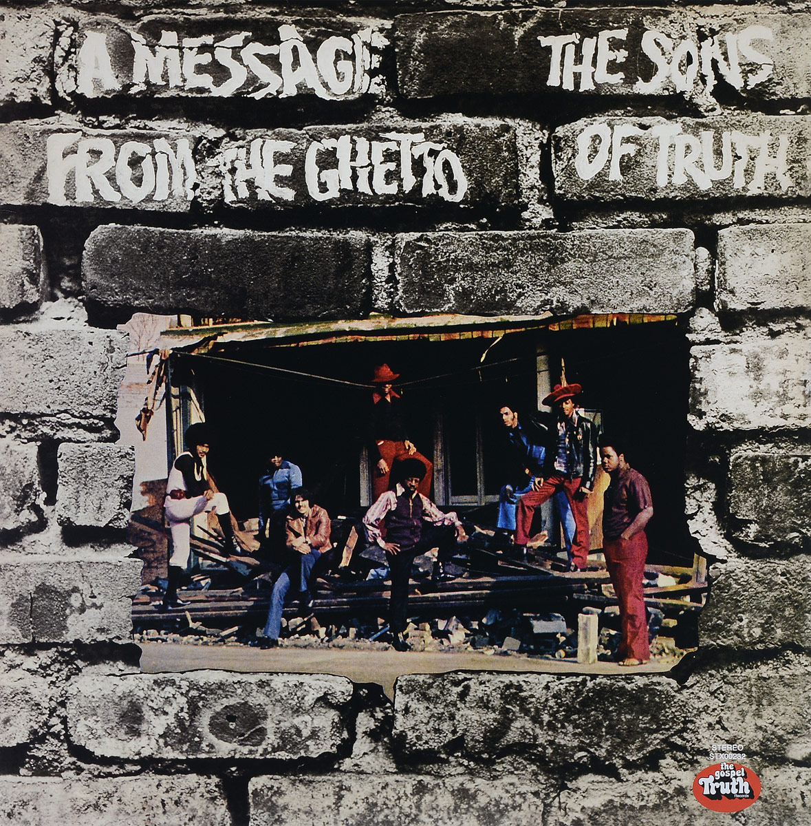 лучшая цена The Sons Of Truth The Sons Of Truth. A Message From The Ghetto (LP)