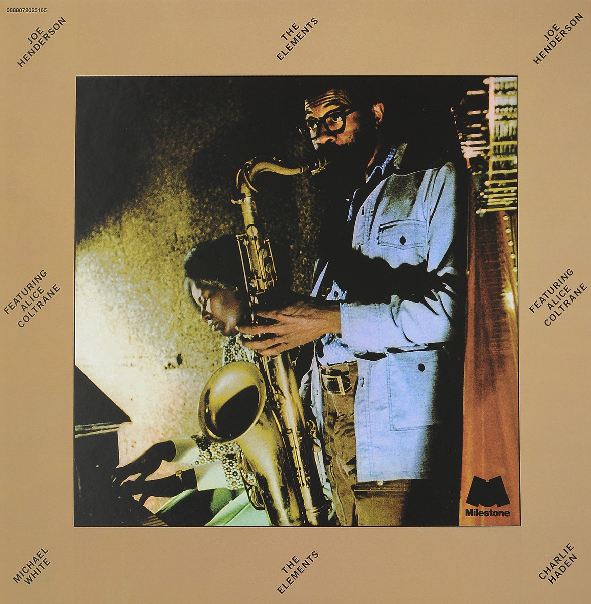 Джо Хендерсон,Элис Колтрейн Joe Henderson, Alice Coltrane. The Elements (LP) джо хендерсон joe henderson page one