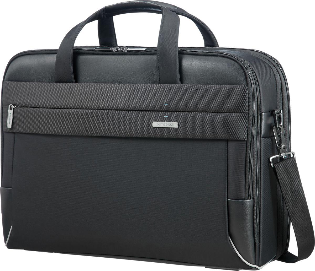 Сумка для ноутбука мужская Samsonite, цвет: черный, 17,3. CE7-09005 сумка для ноутбука samsonite сумка для ноутбука 17 3 vectura 45 5x38 5x13 5 см