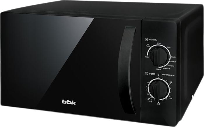 BBK 20MWG-739M/B микроволновая печь свч bbk 20mwg 739m b 700 вт чёрный