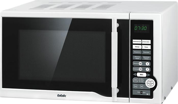 BBK 20MWS-770S/W микроволновая печь микроволновая печь bbk 20mws 770s w
