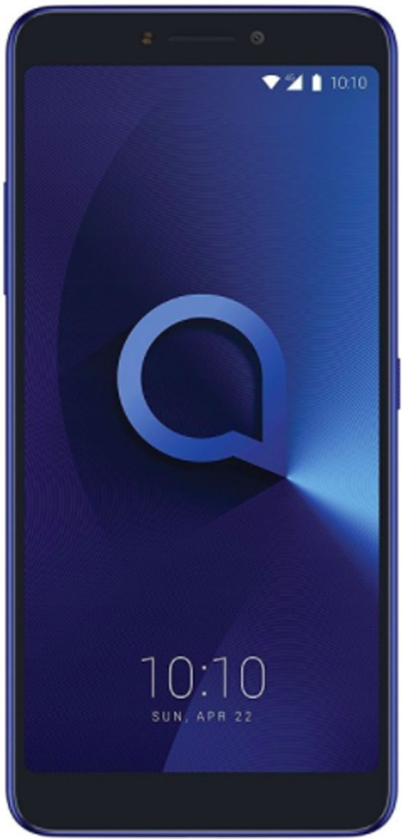 Смартфон Alcatel 5099D 3V 16 GB, синий смартфон alcatel 3v 5099d синий