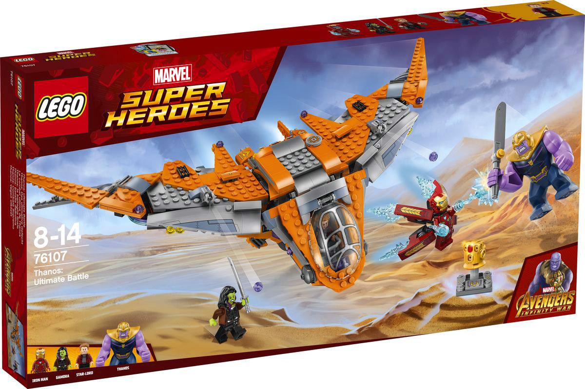 LEGO Super Heroes Marvel 76107 Танос Последняя битва Конструктор конструктор lego танос