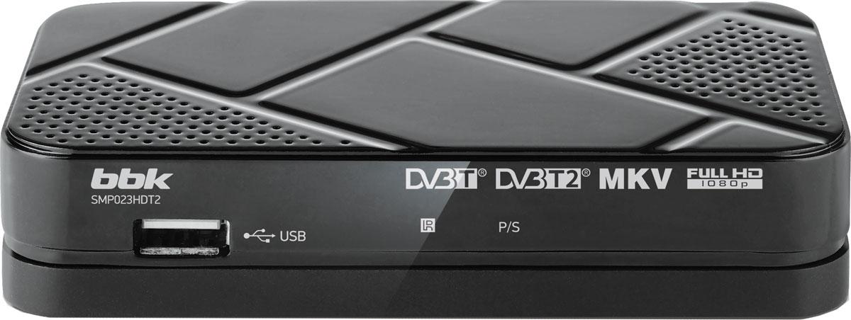 BBK SMP023HDT2, Dark Grey цифровой ТВ-ресивер