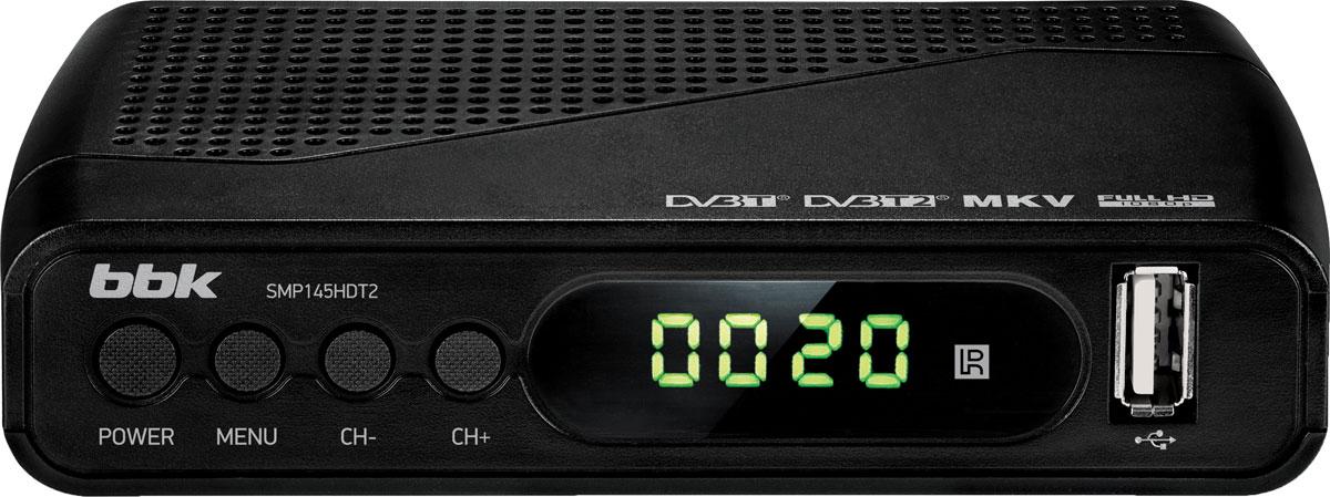 BBK SMP145HDT2, Black цифровой ТВ-ресивер