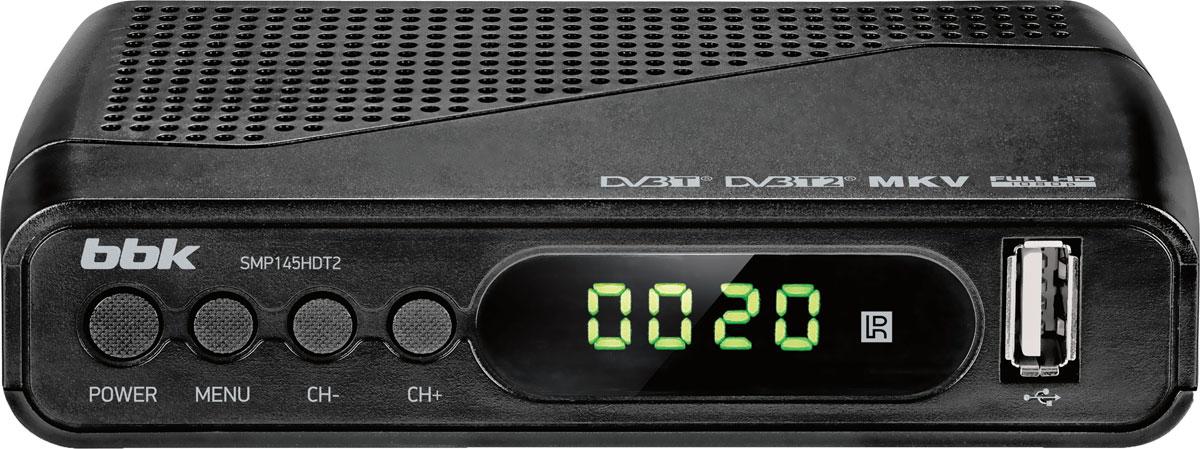 все цены на ТВ ресивер BBK SMP145HDT2, Dark Grey онлайн
