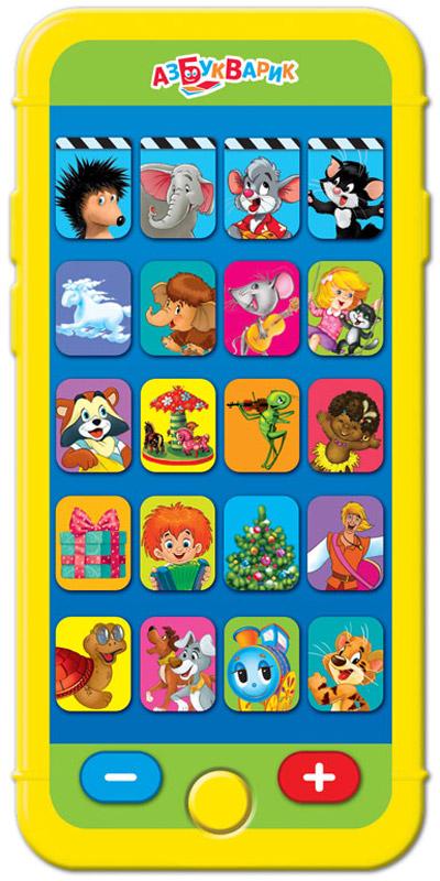 Азбукварик Электронная игрушка Мультиплеер Веселые мультяшки мультиплеер азбуварик антошка