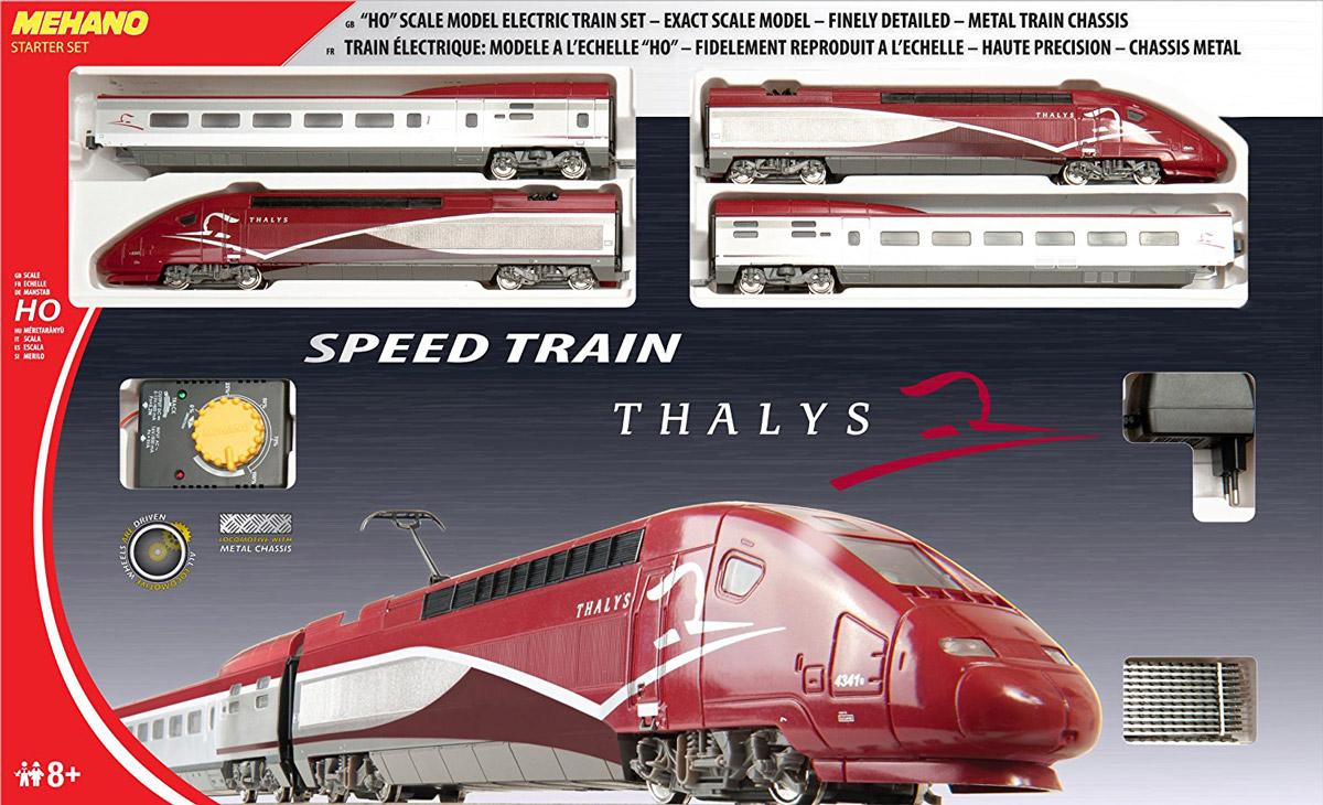 Mehano Железная дорога Thalys игрушка mehano 1 f101 набор рельс