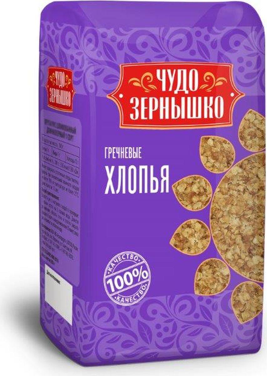 цена на Чудо Зернышко Хлопья гречневые, 400 г