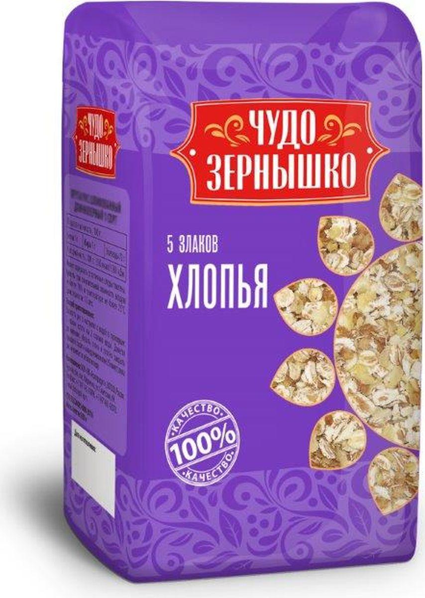 цена на Чудо Зернышко Хлопья 5 злаков, 400 г