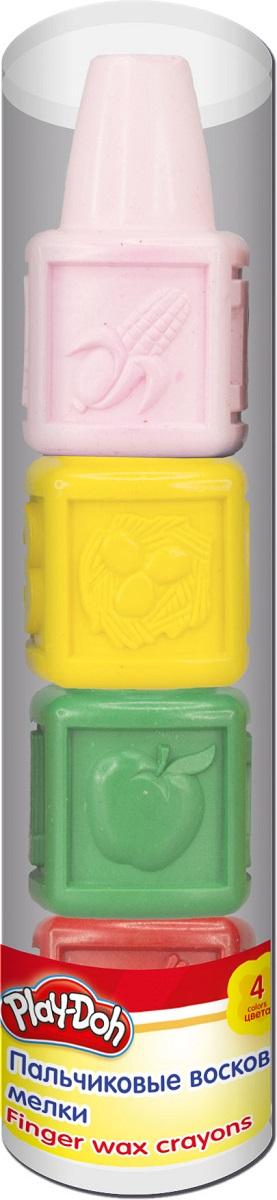 цены на Play-Doh Мелки восковые Пальчиковые 4 шт в интернет-магазинах