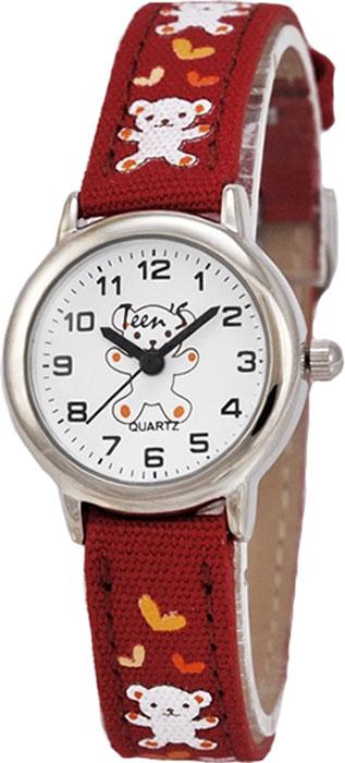 Часы наручные детские Тик-Так Мишки, цвет: коричневый. 114-4 часы детские наручные