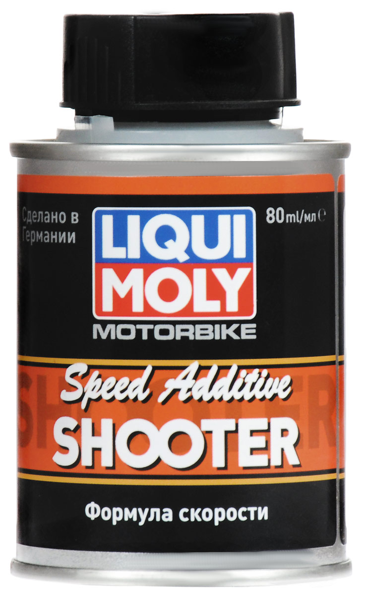 Присадка Liqui Moly Motorbike Speed Additiv Shooter, в бензин, 80 мл цена