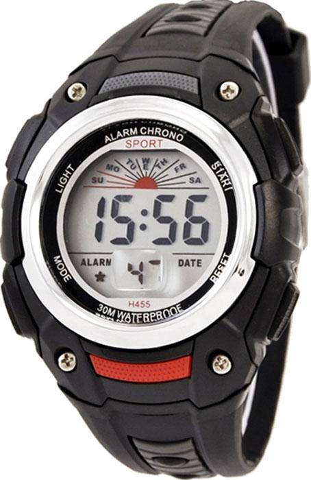 Часы наручные детские Тик-Так, цвет: черный. Н455 часы детские наручные