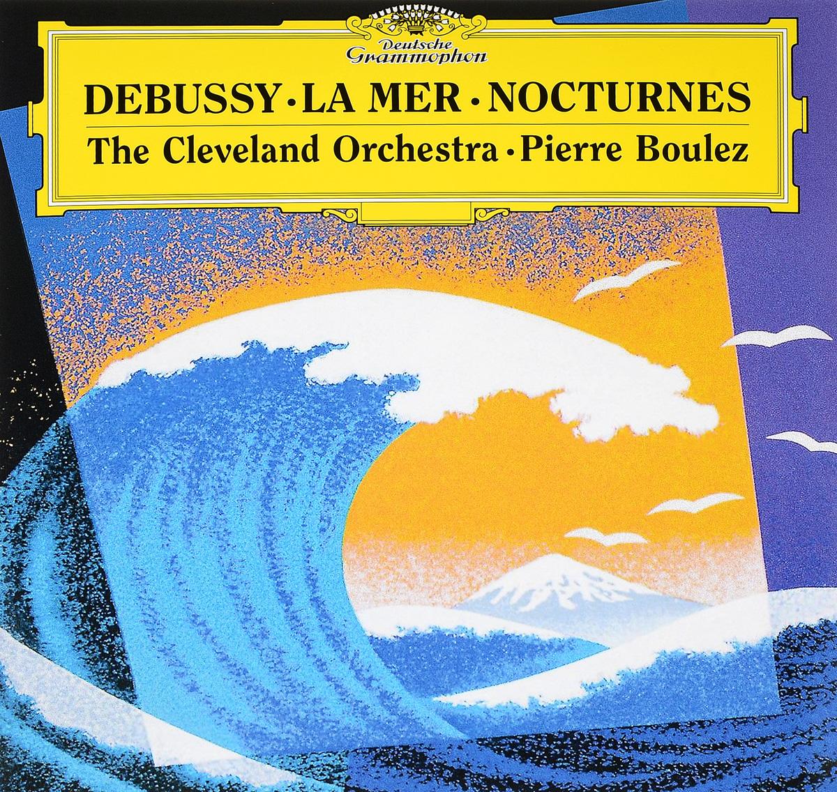 лучшая цена Пьер Булез Pierre Boulez, Debussy. La Mer. Nocturnes