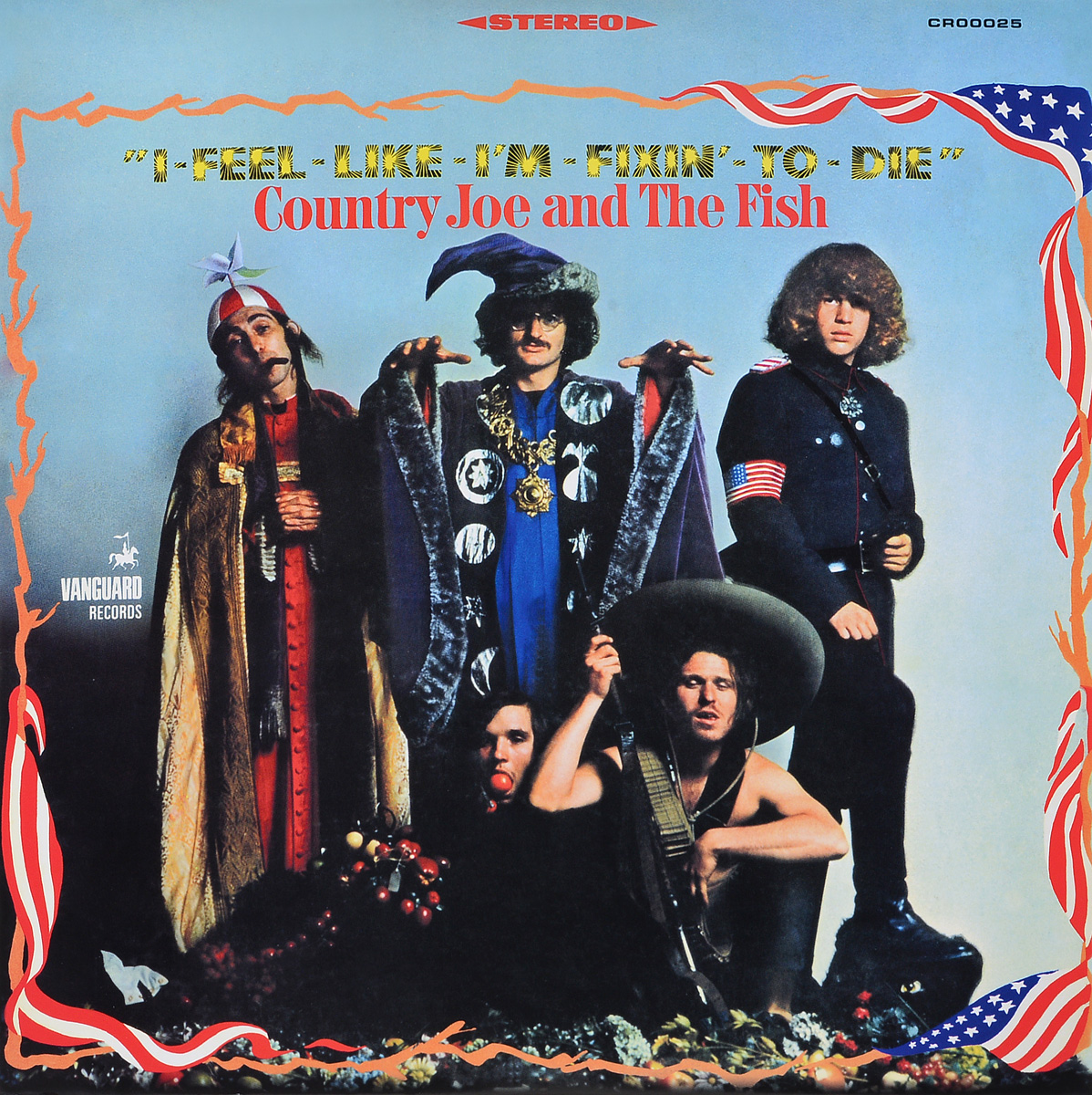 Country Joe & The Fish Country Joe & The Fish. I-Feel-Like-I'm-Fixin'-To-Die (LP) fish parasites part i